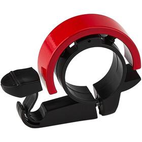XLC DD-R01 Campanello Ø22,2mm, rosso/nero